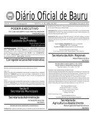 1.070 - Prefeitura Municipal de Bauru