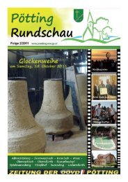 Download Rundschau 2/2011 - Gemeinde Pötting - Land ...