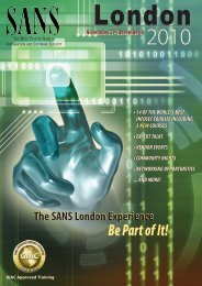free sans investigative forensic toolkit (sift) with this course