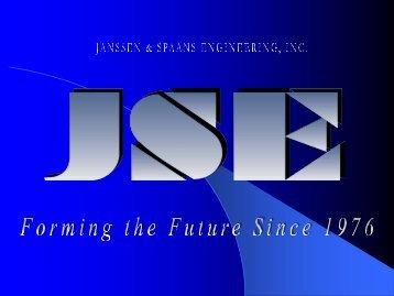 JSE Presentation - Janssen & Spaans Engineering