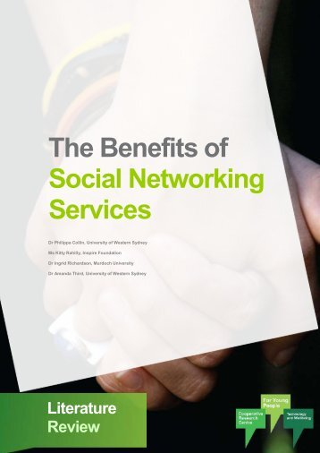 The Benefits of Social Networking Services