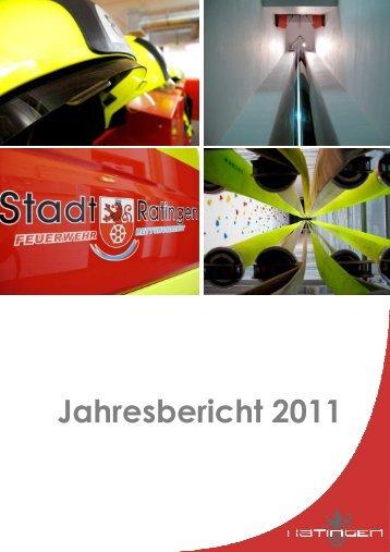 Jahresbericht 2011 - Feuerwehr Ratingen