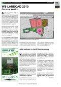 WS·LANDCAD 2010 Die neue Version Bei - Widemann Systeme ... - Page 3