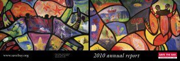 2010 annual report - Save The Bay
