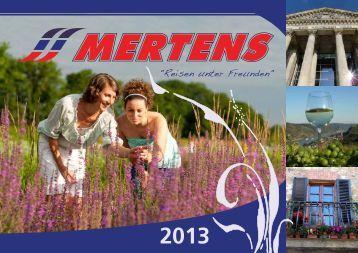 2013 - Mertens Reisen