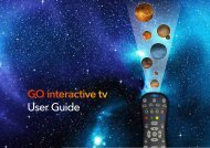Download User Guide - Go Interactive Tv