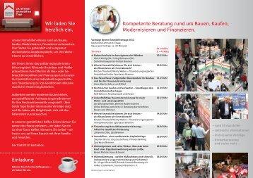 Kompetente Beratung rund um Bauen, Kaufen, Modernisieren und ...