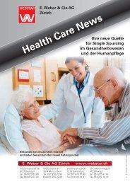 Health Care News E. Weber & Cie AG Zürich