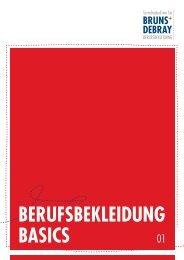 BERUFSBEKLEIDUNG BASICS - Bruns & Debray