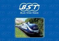 Broschüre - im Blue-Star-Train