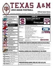 Complete Release (PDF) - Aggie Athletics