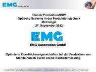 Matthias Irle, EMG Automation GmbH - ProduktionNRW