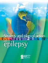 Strategy and Plan of Action on Epilepsy - PAHO/WHO