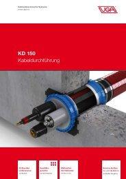 KD 150 Kabeldurchführung - UGA System Technik
