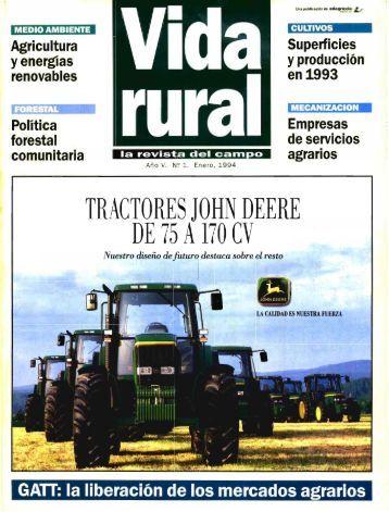 Revista Vida Rural, ISSN: 1133-8938 - Ministerio de Agricultura ...