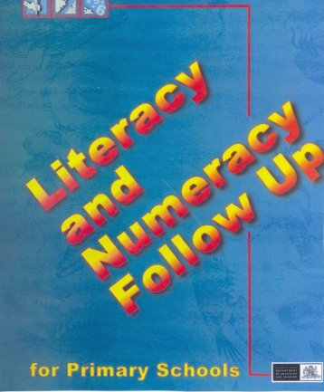 Literacy and Numeracy Follow Up for Primary - Public Schools NSW