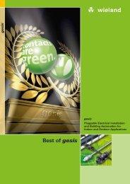 Best of gesis - Wieland Electric