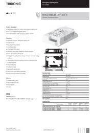PC CFL E COMBO 230-;240 V 50/60 Hz
