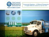 Community Digesters - A Different Perspective