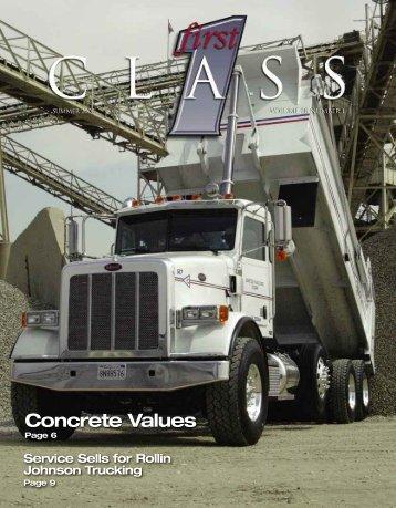 Concrete Values - Peterbilt