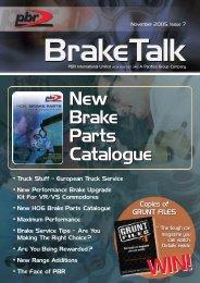 New Brake Parts Catalogue New Brake Parts Catalogue