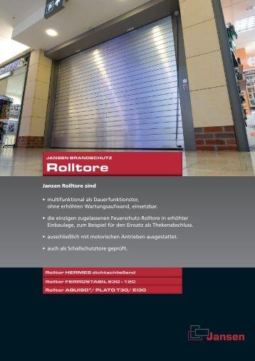 Rolltore - Jansen