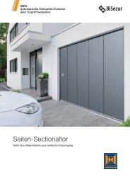 Seiten-Sectionaltor - Hörmann