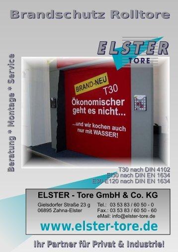 13 BS Rolltore - ELSTER-Tore