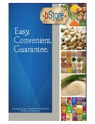 Features & Benefits of bStore - Just Efficient