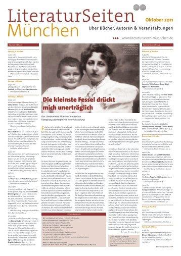 Oktober 2011 - LiteraturSeiten München