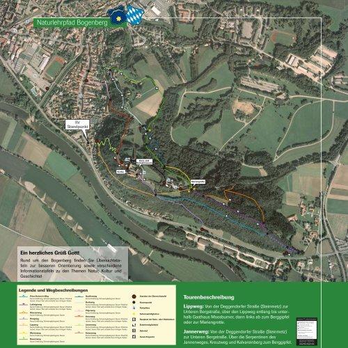 Naturlehrpfad Bogenberg - Naturpark Bayerischer Wald
