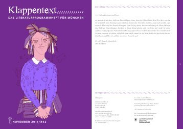 Den November-KLAPPENTEXT herunterladen - literatur-muenchen.de