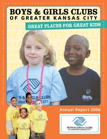 Boys & Girls Clubs of Greater Kansas City - Cindy Carroll Writer