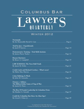 View PDF - Columbus Bar Association