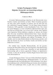 Scripta Paedagogica Online Digitales Textarchiv zur ...
