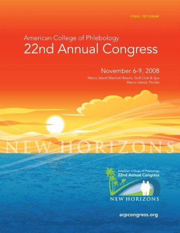 22nd Annual Congress - American College of Phlebology