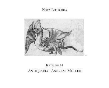Katalog 14 - Antiquariat Müller & Draheim