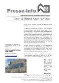Reine Neigungssache Bei geringen Dachneigungen sind ... - Seite 2