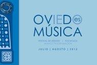 JULIO | AGOSTO | 2012 - Ayuntamiento de Oviedo