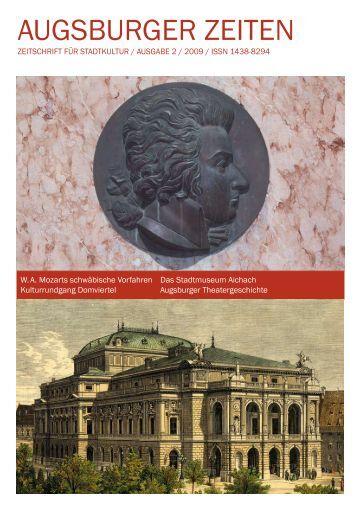 Mozart, Fugger, Augsburg und mehr - Augsburger Zeiten