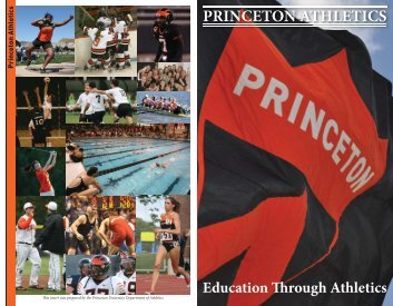 Athletics Overview - Princeton Athletics