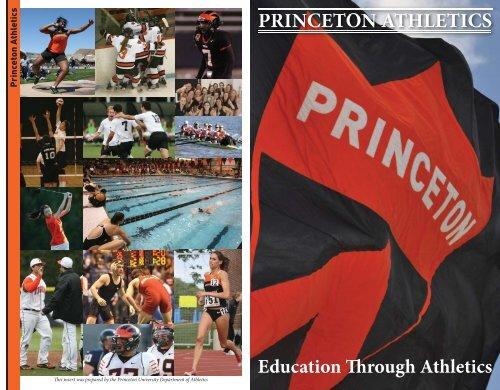 Athletics Overview - Princeton Athletics