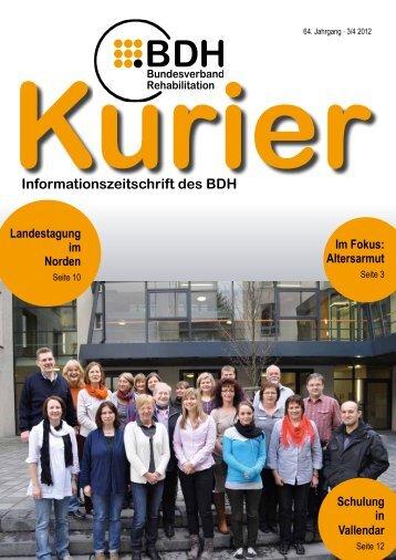 Ausgabe 3/4 2012 - BDH