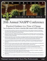 Conference Brochure - naspp