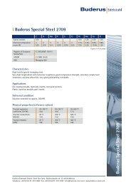 Buderus Special Steel 2709 l Buderus Special Steel 2709