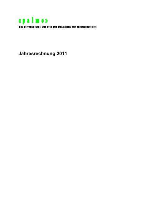 Weisses Blatt (Deutsch) - Stiftung zur Palme