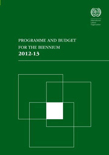 Programme and Budget for the biennium 2012-13 - International ...