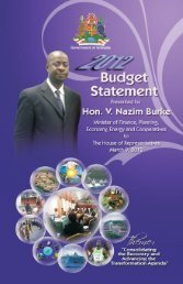 budget statement 2012.indd - Government of Grenada