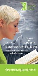 1 - Frankfurt liest ein Buch