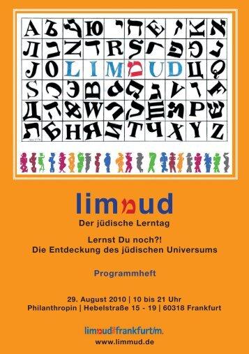 lim ud - Limmud-Tag